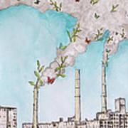Nature Fights Back Art Print