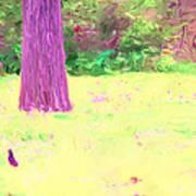 Nature Painting / Digital Art Art Print