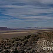 Natures Painted Desert Art Print