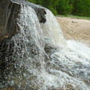 Natures Water Fountain Art Print