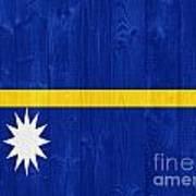 Nauru Flag Art Print
