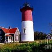 Nausett Lighthouse Art Print