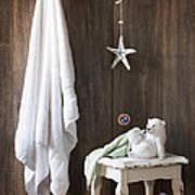 Nautical Bathroom Art Print