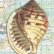 Nautical Journey-c Art Print