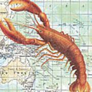 Nautical Journey-i Art Print