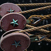 Nautical Ties Art Print