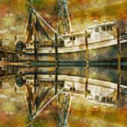 Nautical Timepiece Art Print
