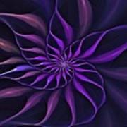 Nautilus Fractalus Moongarden Art Print