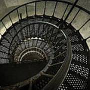 Nautilus Stairway Art Print
