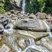 Nauyaca Waterfall Art Print