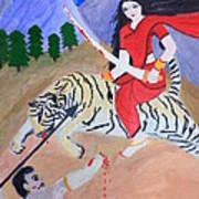 Nava Durga Kaatyayani Art Print