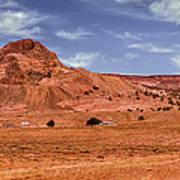 Navajo Nation Series Along Arizona Highways Art Print