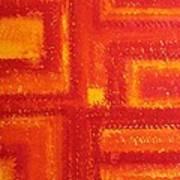 Navajo Rug Original Painting Art Print