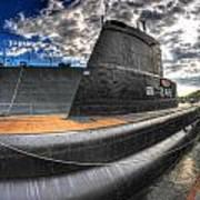 Naval Base At Erie Basin Marina Art Print