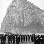Naval Review At Gibraltar Art Print