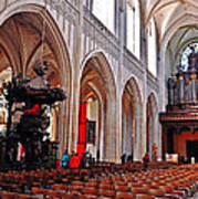 Nave Of The Church Of Our Lady Art Print