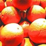 Navel Oranges Art Print
