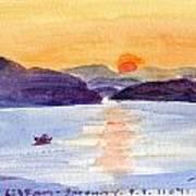 Navplion 6hr 35am Serenity Ps 11041 Art Print