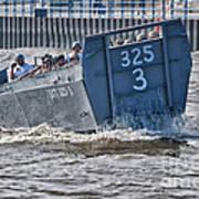 Navy Landing Craft 325 Art Print