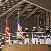 Navy Men Art Print