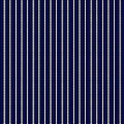 Navy Pinstripe 1 Art Print