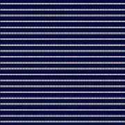 Navy Pinstripe 2 Art Print