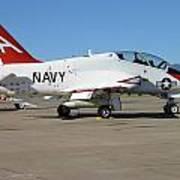 Navy T-45 Goshawk Art Print