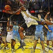 NBA Art Print by Georgi Dimitrov