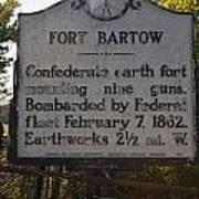 Nc-bbb2 Fort Bartow Art Print