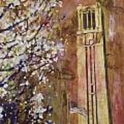 Ncsu Bell Tower Art Print