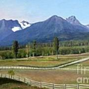 Near Smithers Bc Art Print