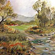 Near The River Art Print