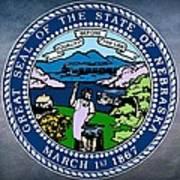 Nebraska State Seal Art Print