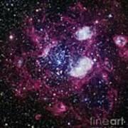 Nebula Ngc 1760, Optical Image Art Print