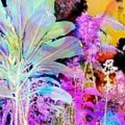 Negative Plants Art Print