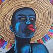 Negrito In Carnival Art Print