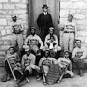 Negro Baseball Art Print