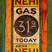 Nehi And Gas Sold Here Art Print