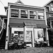 neighbourhood grocery and small deli in west end Vancouver BC Canada Art Print