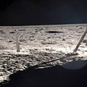 Neil Armstrong On The Moon - 1969 Art Print