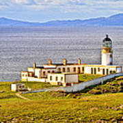 Neist Point Lighthouse Isle Of Skye Art Print