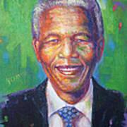 Nelson Mandela 1 Art Print
