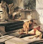 Nero And Agrippina Art Print
