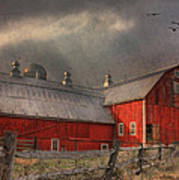 Nescopeck Duck Barn Art Print