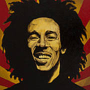 Nesta Robert Marley  Art Print