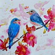 Nesting Pair Art Print