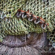 Nets And Knots Number Three Art Print by Elena Nosyreva