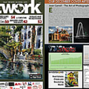 Network Magazine Feature Art Print