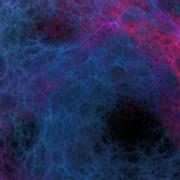 Neurons Get Smoky Art Print