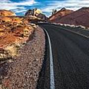 Nevada Highways Art Print